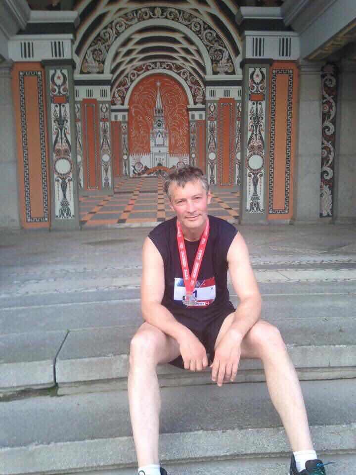 Евгений Ройзман после финиша