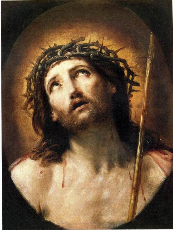 Христос в терновом венце – картина художника Гвидо Рени.jpg