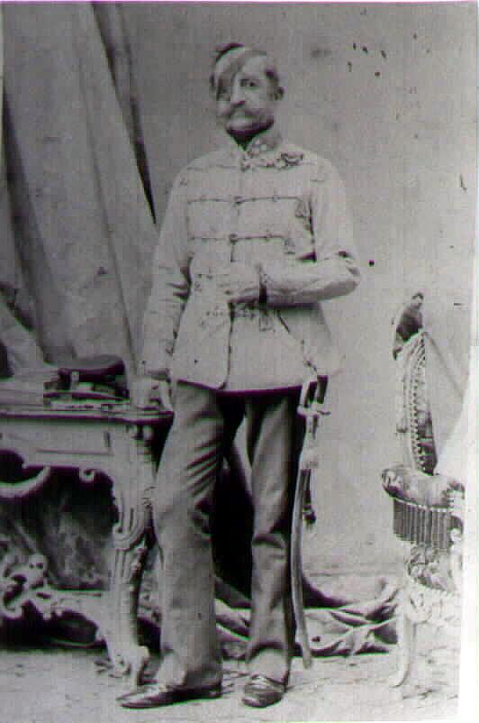 генерал от кавалерии Франц граф Шлик Бассанский и Вайскирхенский (Franz Graf Schlik zu Bassano und Weisskirchen), командующий 2й армией в 1859. фотография 1860