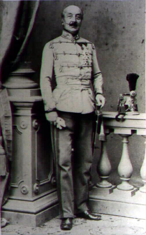 Генерал от квалерии Haller v. Hallerkeö, Franz Graf