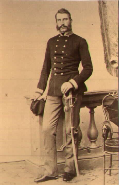 Капитан Главного штаба барон Альфонс Вимпфен(Alfons Wimpffen)корпус адъютантов (corps des adjudants) Ранен при Сольферино.