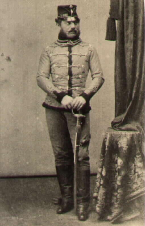 Граф Карл Харденберг ротмистр гусарского полка Haller №12 командовал двумя эскадронами присоединенными к дивизии Урбана. Полк в начале компании был расквартирован в Вероне. За бой при Calcinato Орденом короны 3го класса.