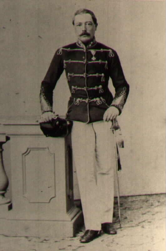 Граф Константин Тун-Хохенштайн из того же гусарского полка Халлера, во время компании 1859 был прикомандирован к Главному штабу. После компании произведен подполковники и перведен в гусарский полк Kaiser№1