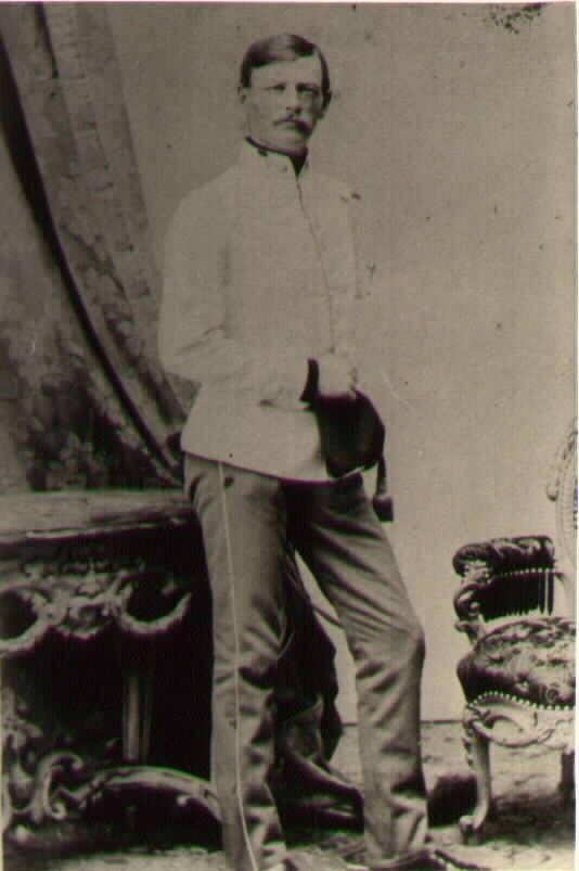 Граф Пауль Хомпеш-Польхайм (Paul Hompesch-Polheim) ротмистр 2го кирасирского полка.