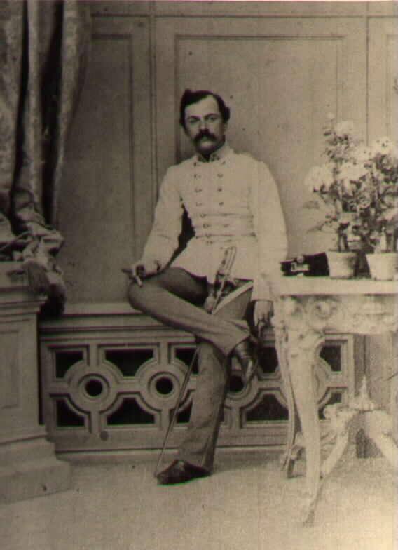 Капитан Карл Риттер фон Катинелли пехотный полк Nugent №30.