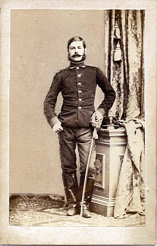 лейтенант артиллерии Франц Розмариновски (Franz Rosmarinofsky), ранен при Мадженте