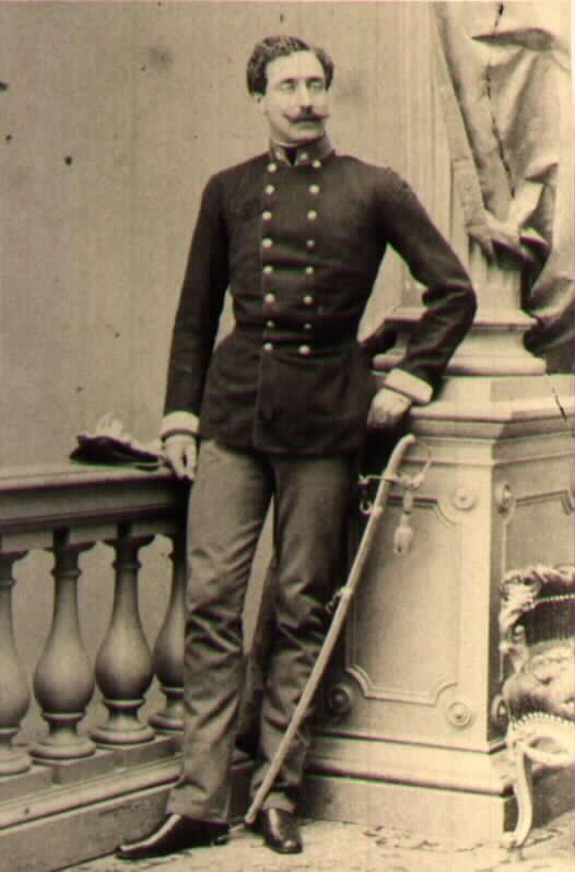 Ротмистр 2го уланского полка Граф Франц Ламберг (le comte Franz Lamberg). В начале 1859 переведен в адъютанты главной квартиры.