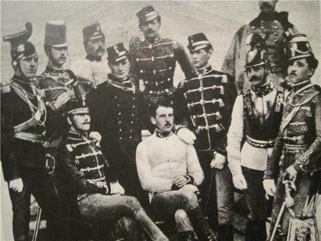 офіцери міланського гарнізону