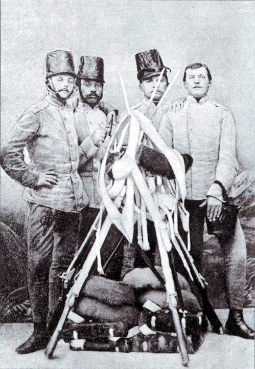 угорські піхотинці