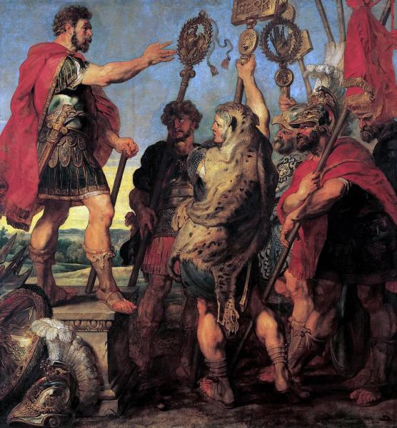 История Деция Муса 1. Речь консула Деция Муса о своей мечте (1617) (294х2780) (1617)  (Вена, Музей Лихтенштейна)