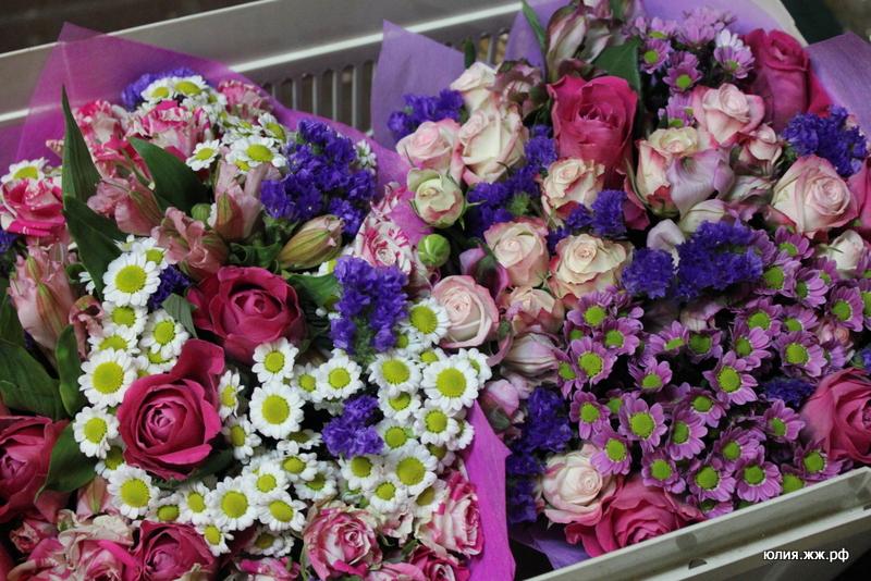 Очень большие цветы