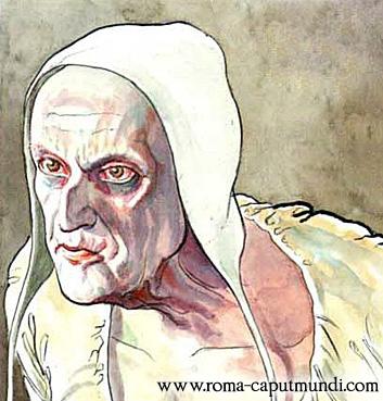 Иннокентий VIII из комикса М.Манары