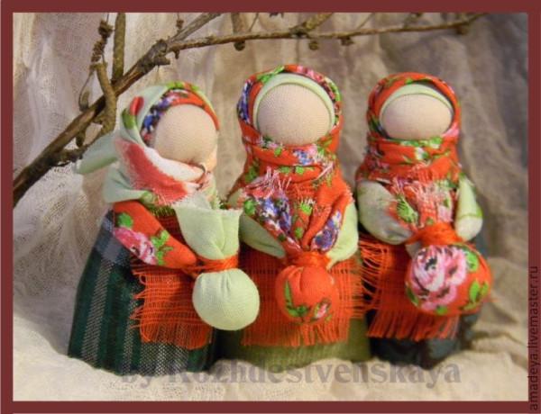 Народные куклы из ткани своими руками