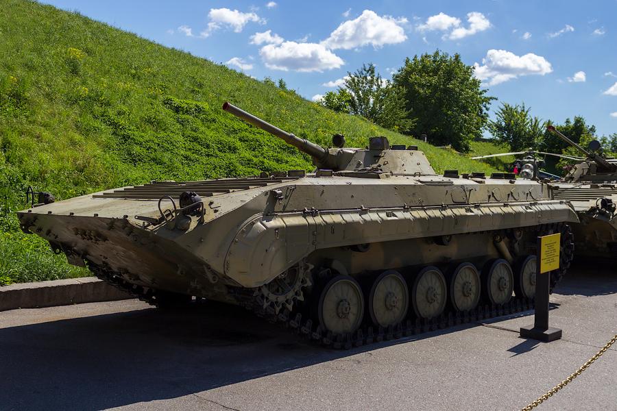 Национальный музей истории Великой Отечественной Войны. БМП-2