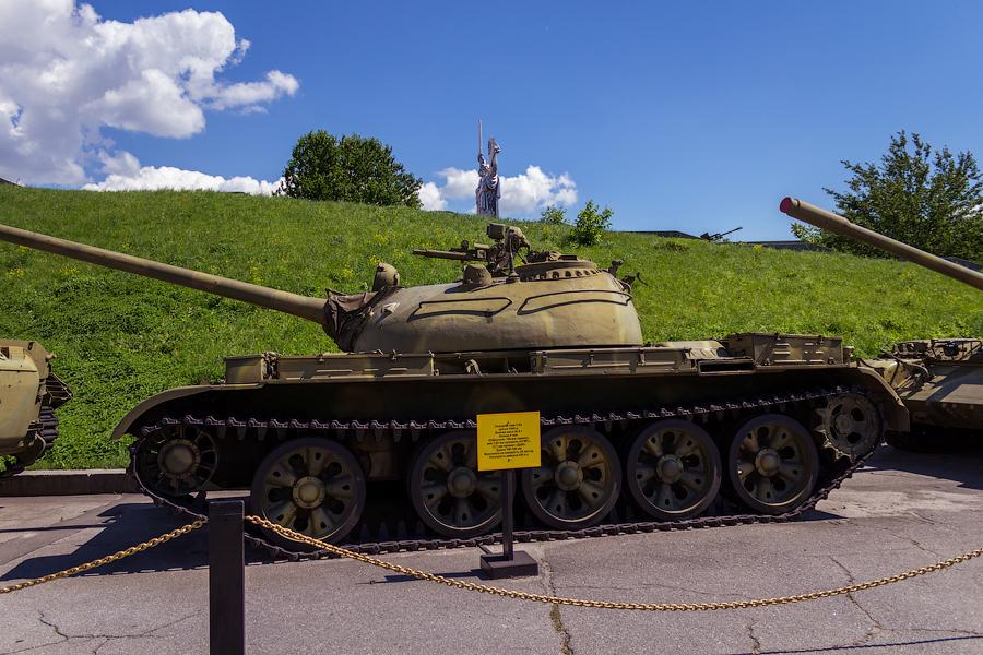 Национальный музей истории Великой Отечественной Войны. Танк Т-54