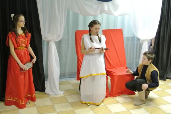 Мойра, Афина и Сатир