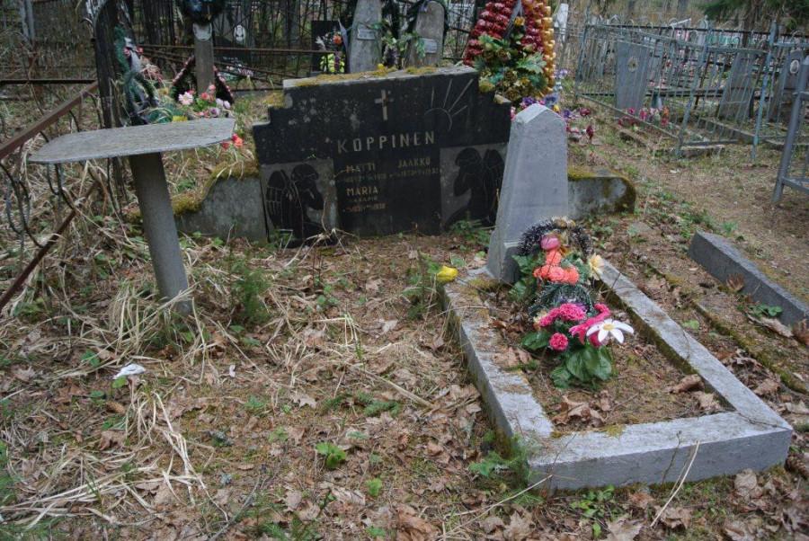 003 Советская могила в финской. Лахденпохское кладбище