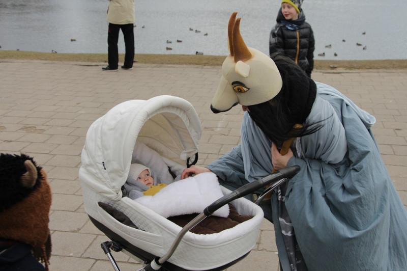 К Герде пришла коза бодатая!