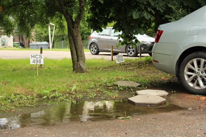 Самозахват мест под парковку