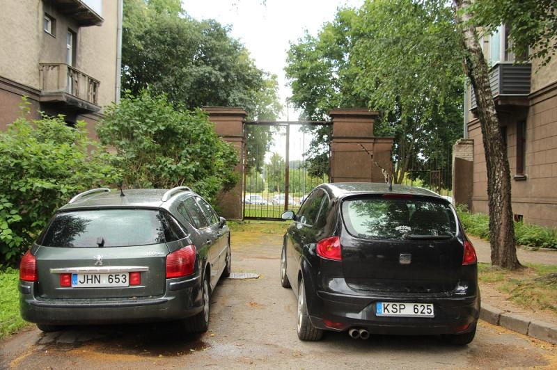 Двор-парковка