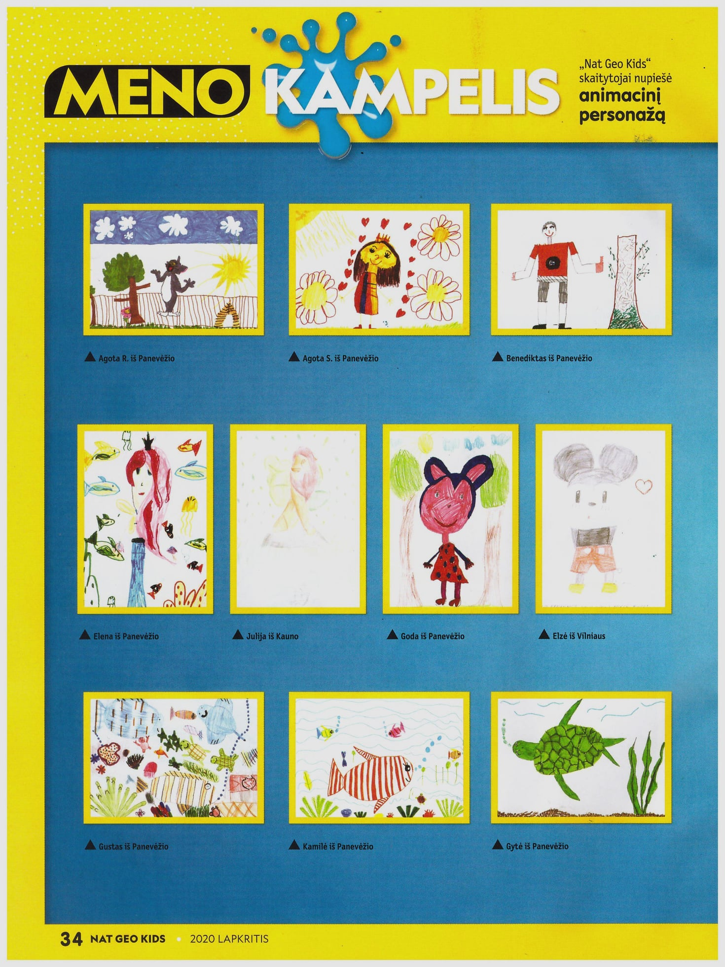 вчера, когда учительница показала детям этот журнал, ребенок пережил ужасные минуты...