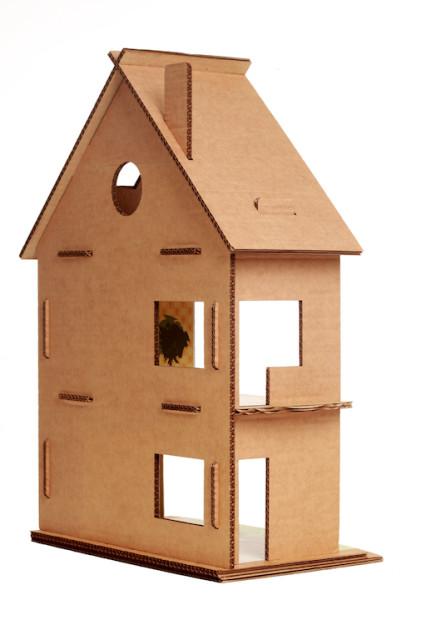 Кукольный дом из картона