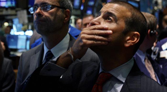 Трейдеры на Нью-Йоркской фондовой бирже/ Фото: Stockinfocus.ru