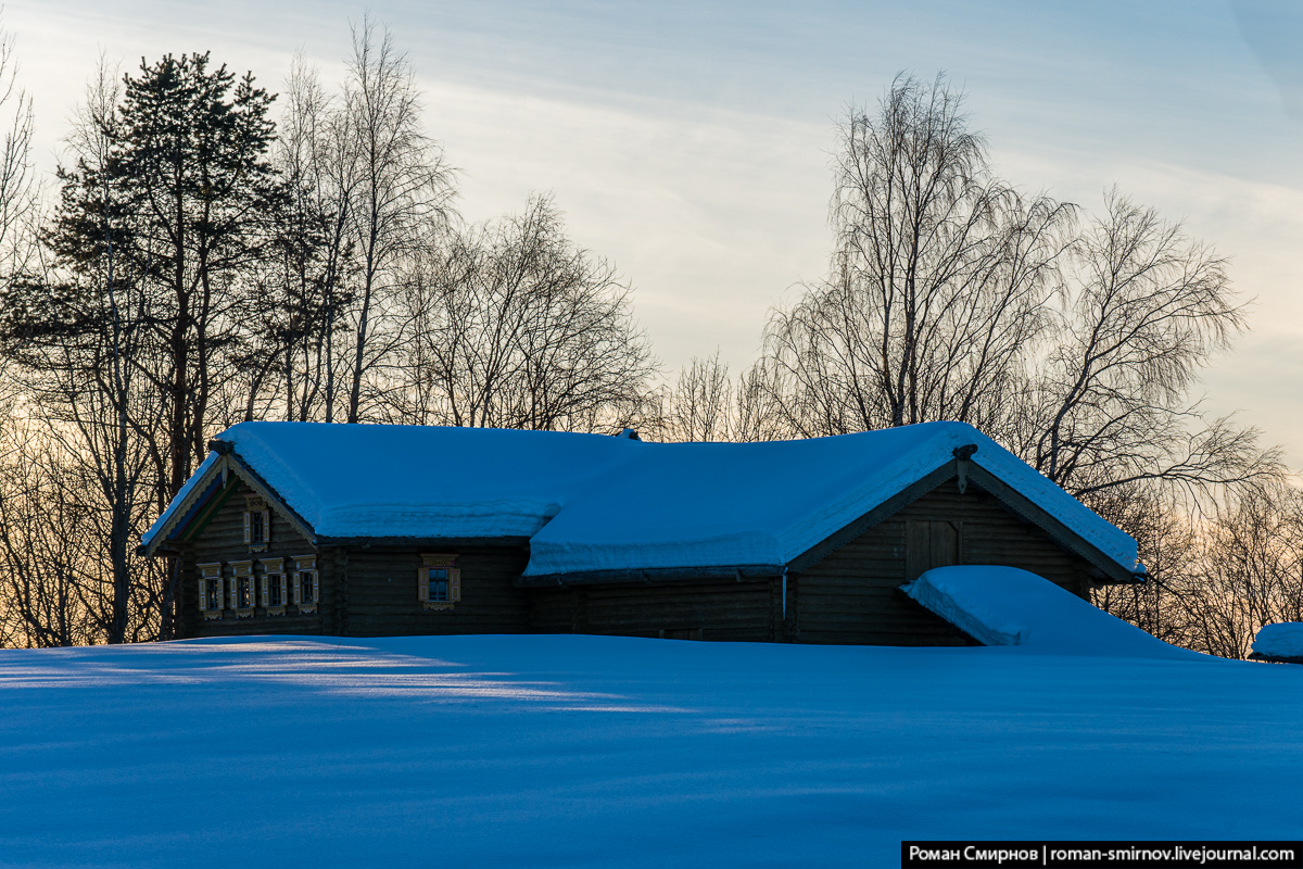 Добровольная самоизоляция на озерах Архангельской области.