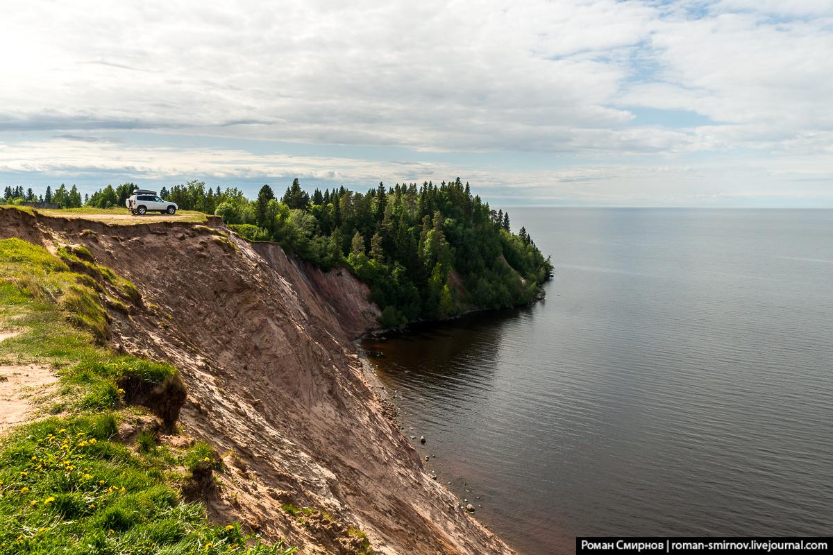 Андома-гора на Онежском озере.