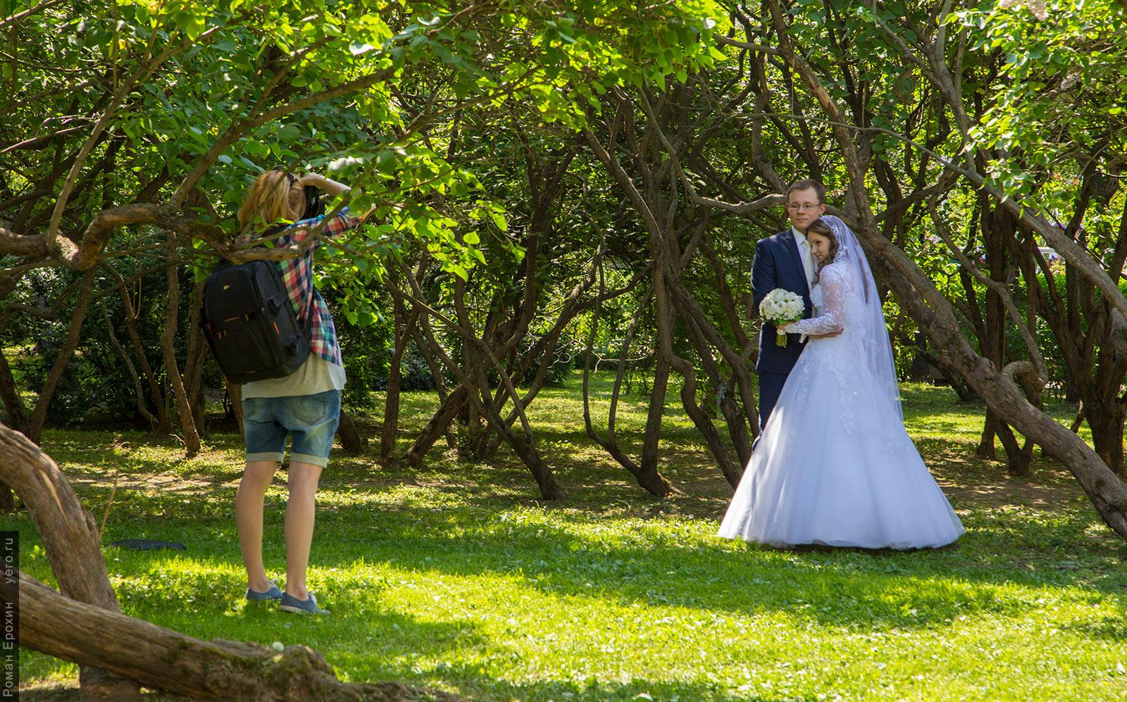 парк-горького-свадебная-фотография