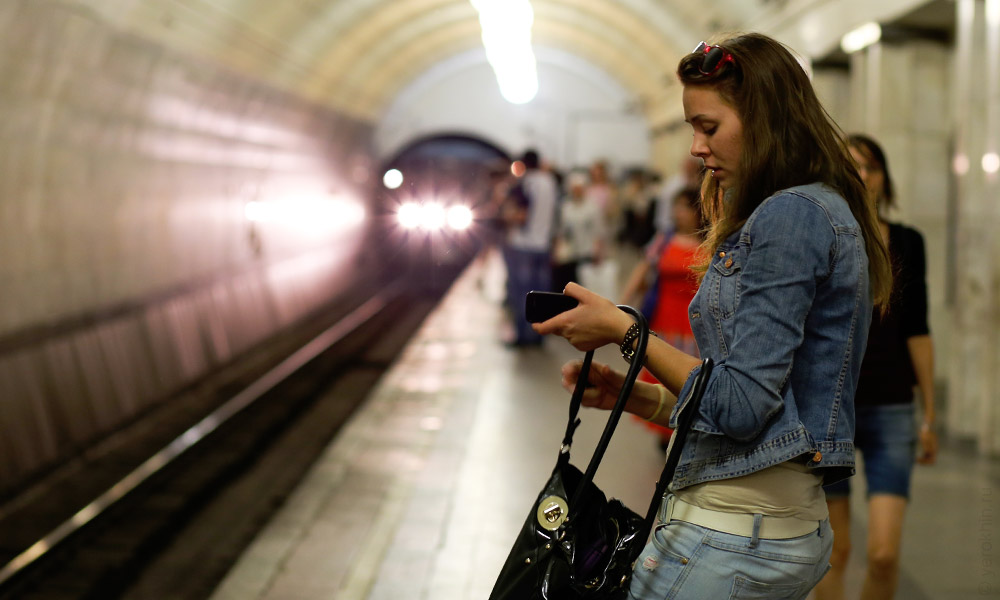 Снять девушку в метро фото 123-328