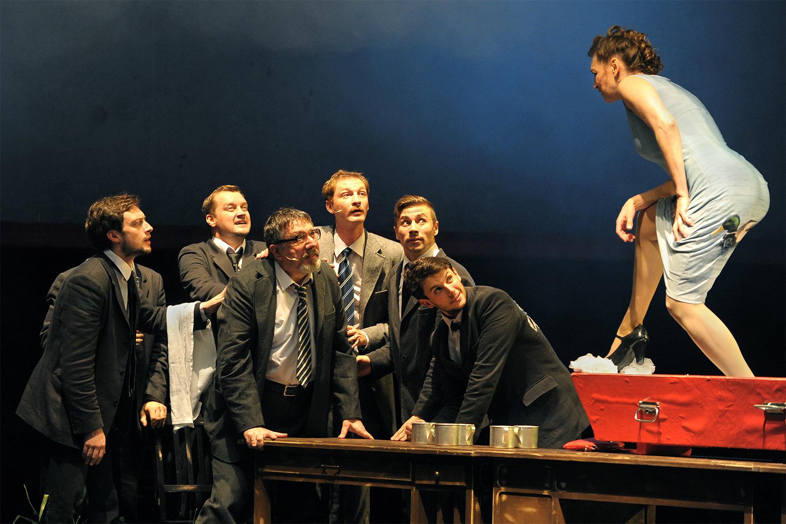 Утиная охота в театре Et Cetera