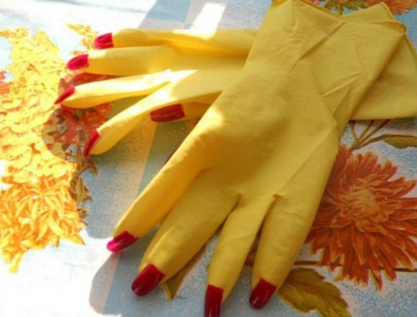 Приколы фото перчатки с маникюром широкие модель
