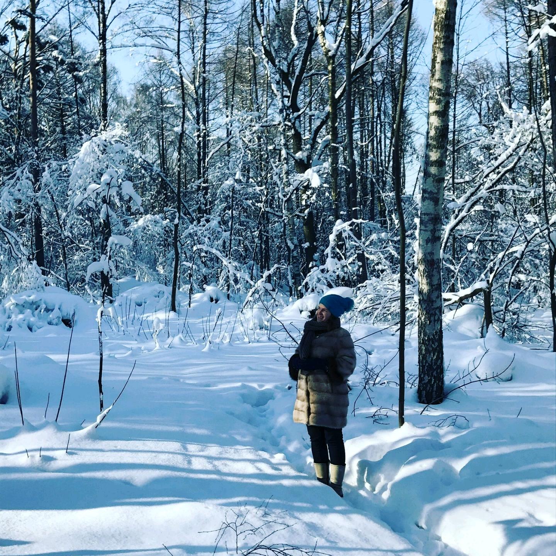путешествие в зимний лес с фотоотчетом были великолепные персонажи