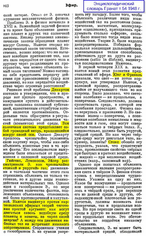 Эфир_энциклопедия_Гранат_1948