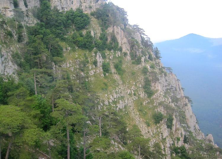 Спуск с горы Ай-Петри