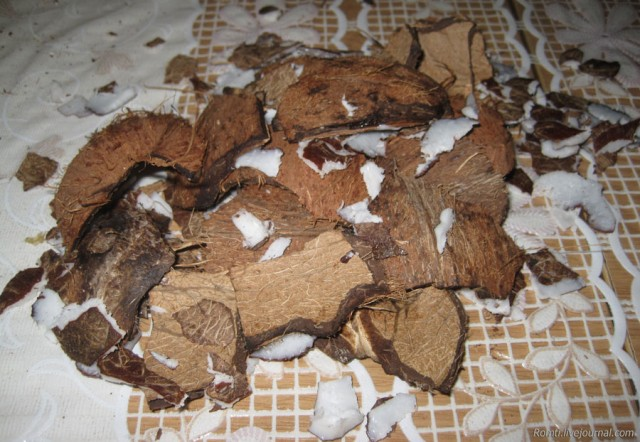 Скорлупа кокоса