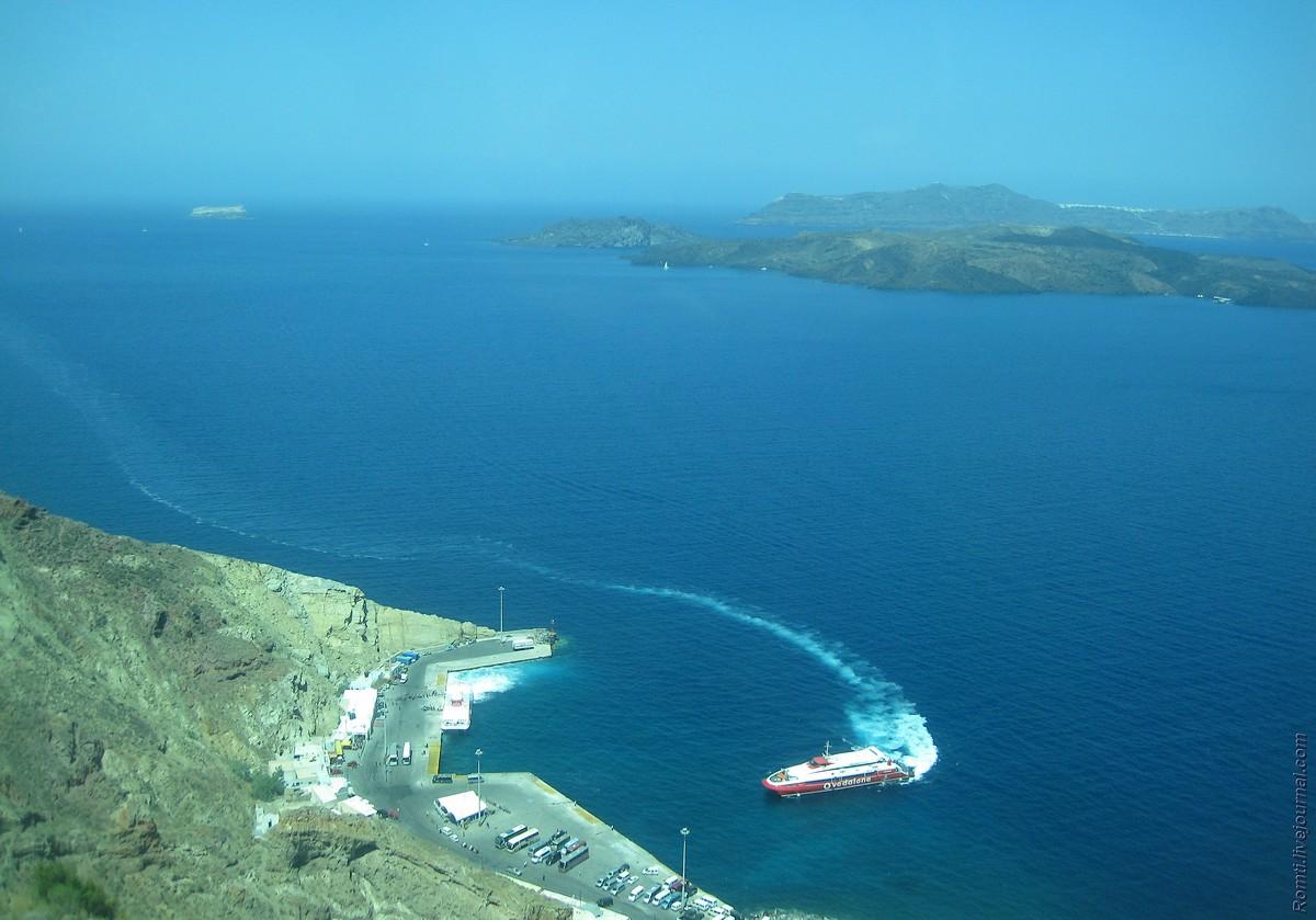 Порт Санторини