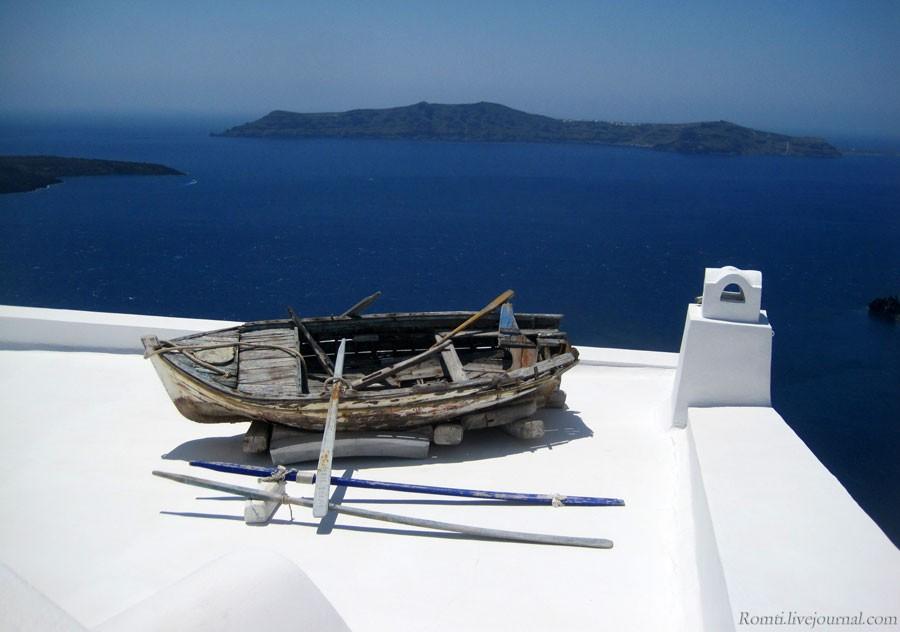 Лодка на крыше