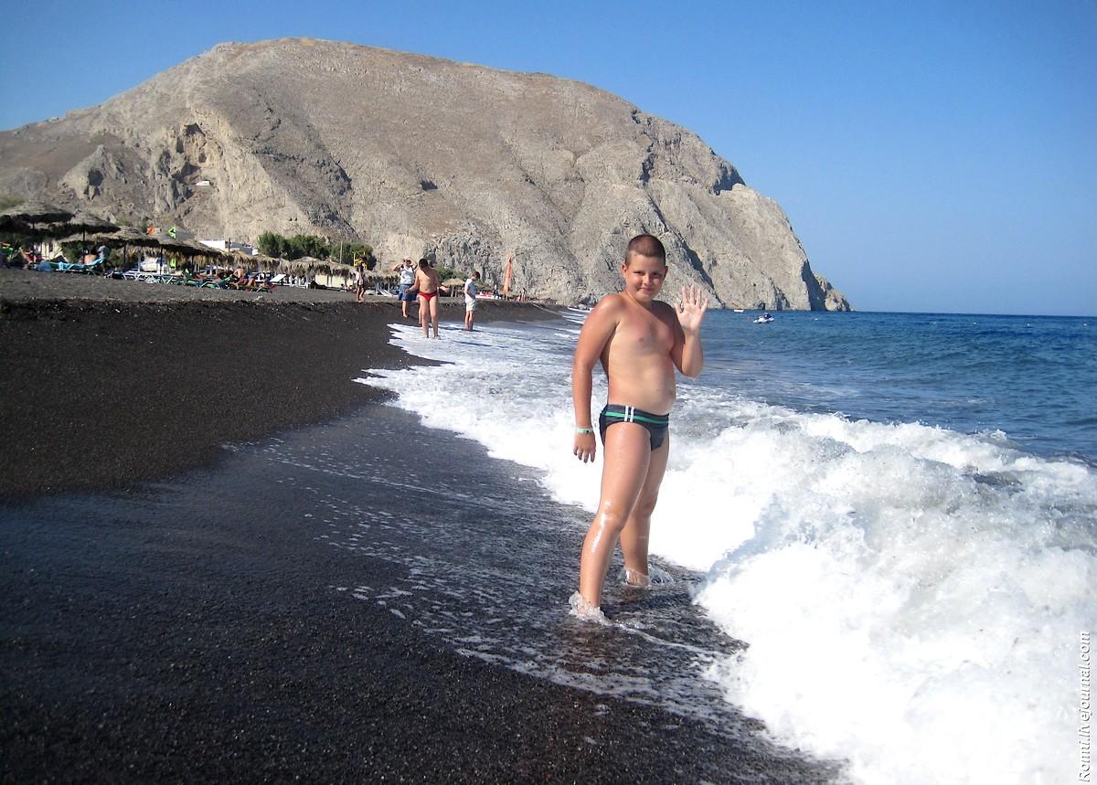 Сын у моря
