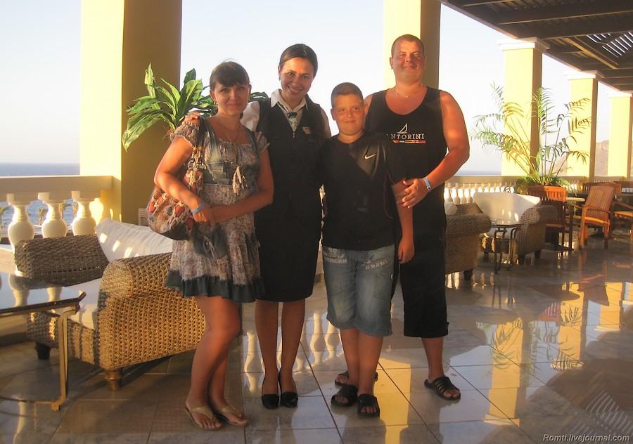 В отеле с Екатериной