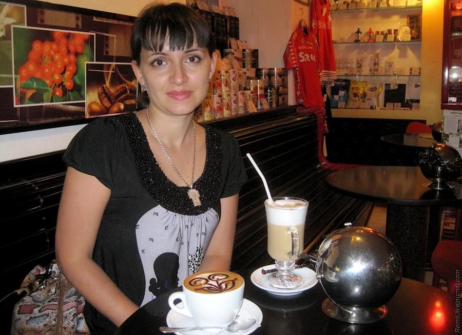 Красотка в Доме Кофе