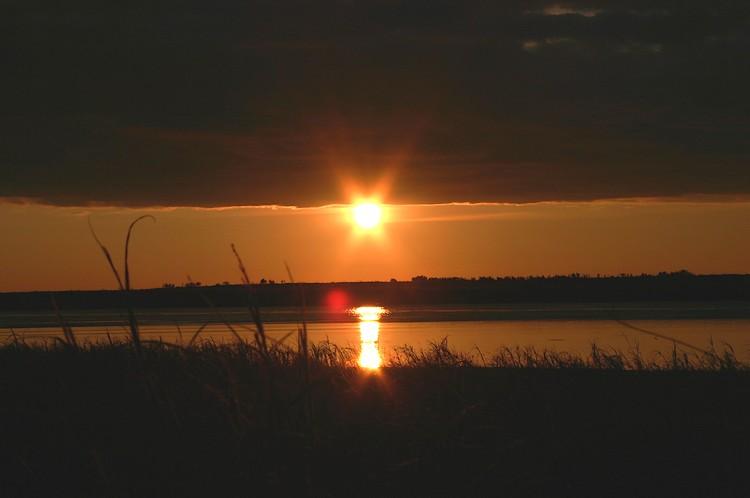 Закат или восход солнца