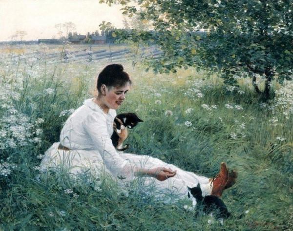 elin-kleopatra-danielson-gambogi-girl-with-cats-in-a-summer-landscape-1891.jpg