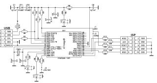 Схема AVR910