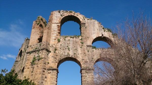 aspendos aqueduct