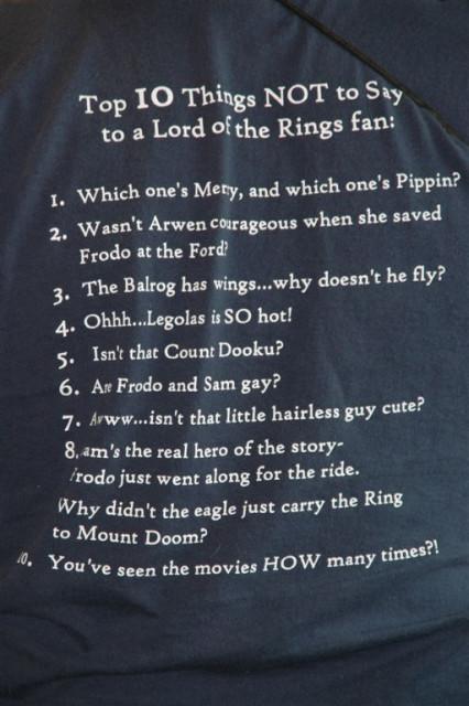 Top Ten T-Shirt (worn by Bard)