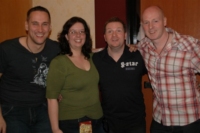 Photos with the boys of Beecake!