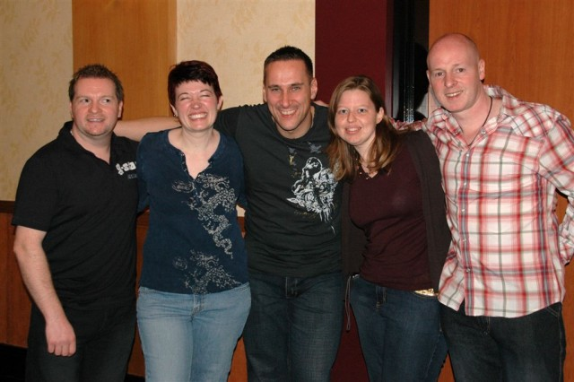 More posing with Beecake
