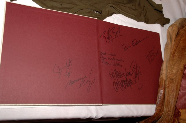 ROTK book signed by several